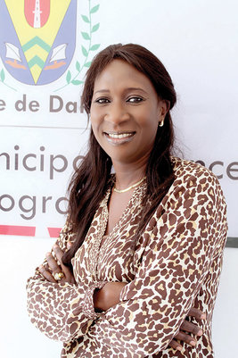 Khady Dia Sarr, Progamme Director for the Municipal Finance Programme
