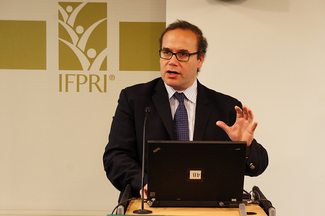 Maximo Torero, Director of the Markets, Trade, and Institutions Division at the International Food Policy Research Institute
