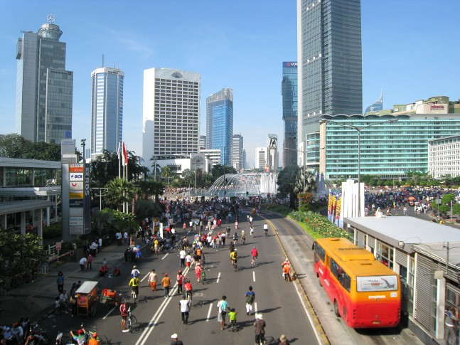 Asia and the Pacific is home to 20 of the world's 35 megacities, including Jakarta