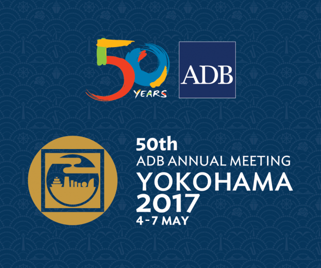 The Annual Meeting of the Asian Development Bank's (ADB) Board of Governors @ Pacifico Yokohama