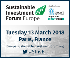 Sustainable Investment Forum Europe @ Paris | Île-de-France | France