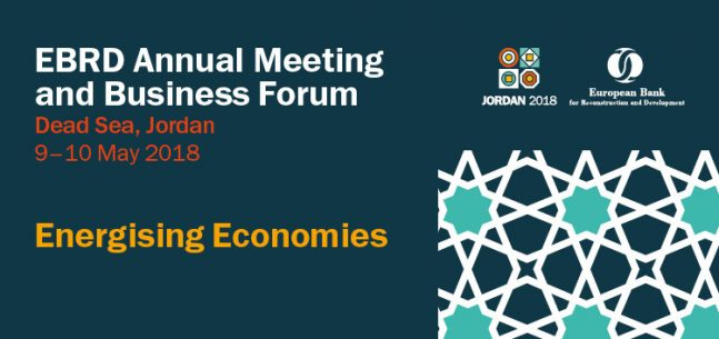 EBRD 2018 Annual Meeting and Business Forum @ King Hussein bin Talal Convention Centre | Sweimeh | Jordan